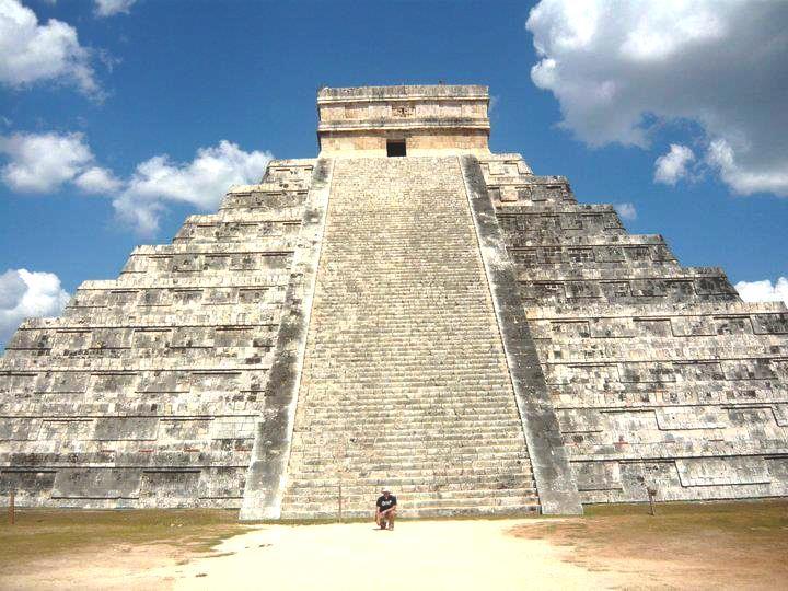 Pirámide El Castillo de Kukulkán en Chichen Itzá